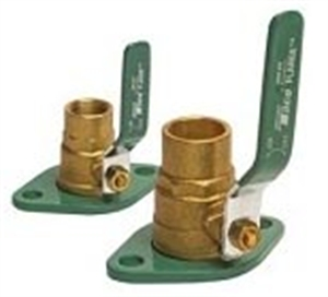 Picture of Flanges with Valves, Set of 2